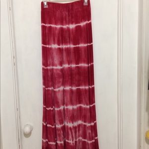 Dresses & Skirts - Jesse & J womans M tie dye poly knit maxi skirt